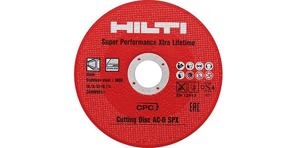 Ultimate abrasive cutting disc for metals offering extra-long lifetime and extra-high cutting speed.